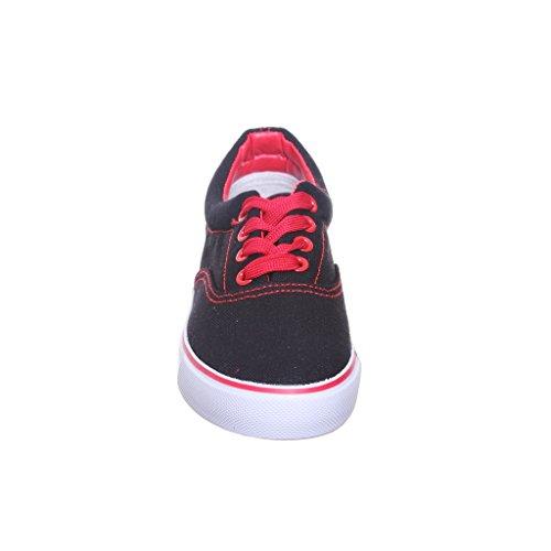 Welke Klassieke Damessneakers Zwart / Rood Ook