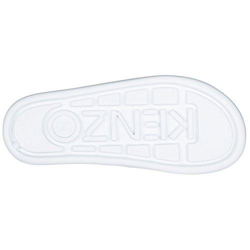Donna Gomma Ciabatte Kenzo Bianco in UgPx51cqw