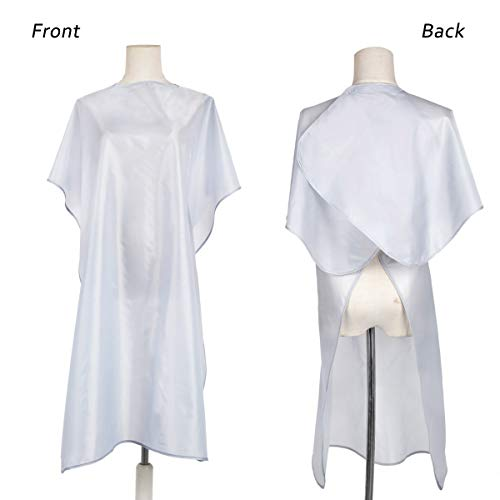 Nylon Waterproof Salon Cape with Adjustable Closure, Hair Cutting Cape Barber Hairdressers Gown for Hair cutting and coloring - 35.5\