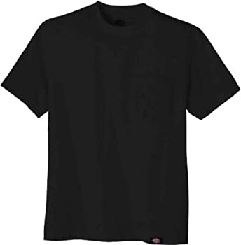Dickies Men's Short-sleeve Pocket T-shirt Black 6x 0