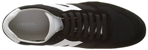 Geox D Snake a, Zapatillas para Mujer Negro (BLACKC9999)