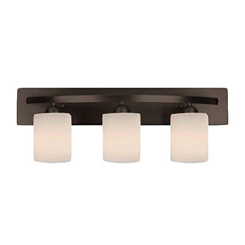 Oil Rubbed Bronze 3 Bulb Bath Vanity Light Bar Fixture Interior Lighting - Fixtures and Beyond