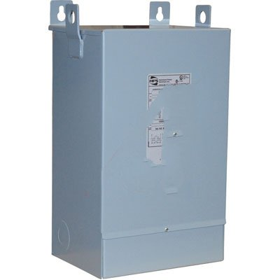 Hammond Power Solutions C1F003LES 1-Phase Copper Encapsulated Distribution Transformer 240/480 Volt Primary 120/240 Volt Secondary 3 KVA HPS Fortress™ by Hammond Power Solutions