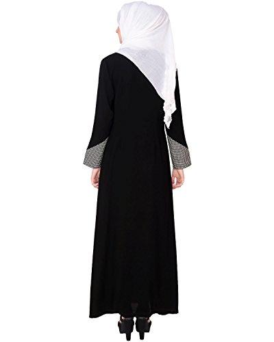 Modest Forever Classic Black Coat Abaya by modestforever (Image #3)