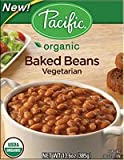 Pacific Natural Foods Organic Baked Beans Vegetarian -- 13.6 oz