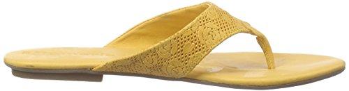 627 Dorado Mujer Tamaris de Sandalias Gold dedo 27114 SAFFRON vSWO8x4