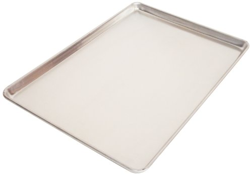 Aluminum Jelly (Magna Industries 16030 18-Gauge Aluminum Full Size Plain Sheet Pan, 26