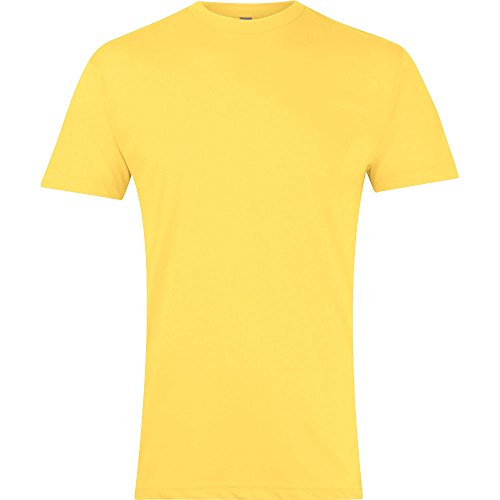 Sunshine Crew Sleeve Neck Mens Short shirt T Polycotton American Apparel qIw4zz