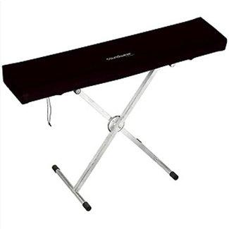 OK Abdeckhaube für Keyboard, 88 Tasten, 125 - 150 cm, elastisch daher universel