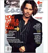 ESQUIRE Magazine Johnny Depp May 2004 Josie Maran Jeffrey Tambor Mario Batali
