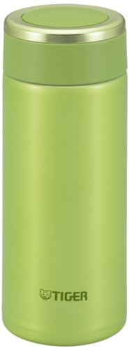 Tiger MMW-A036-GL Stainless Steel Vacuum Insulated Mug, 12-Ounce, Lime Green