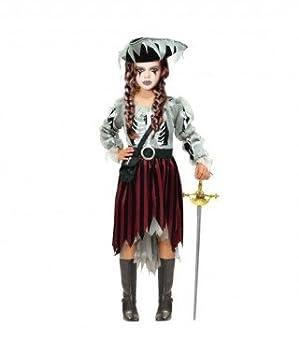 Disfraz Ghost Pirate para niña(2-4 años) 18227: Amazon.es ...