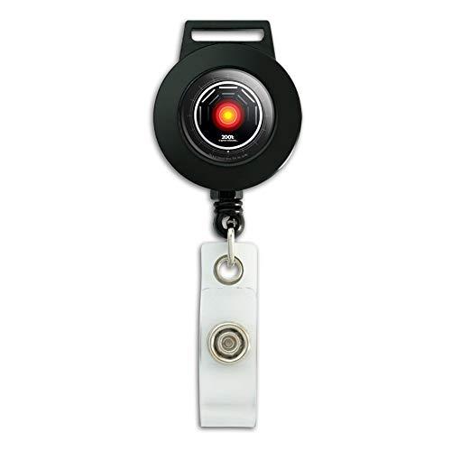 2001 Lanyard - 2001: A Space Odyssey Hal Lanyard Retractable Reel Badge ID Card Holder