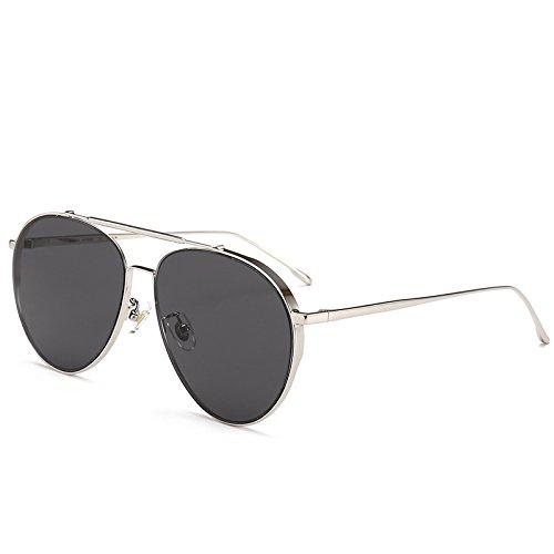 ocio sol anti sol del negro y gafas de polarizan la señoras conducen Gray de gafas luz ultravioleta de té recorrido del Zhangxin sol film que que marco Gafas del polarizada wU4q06g