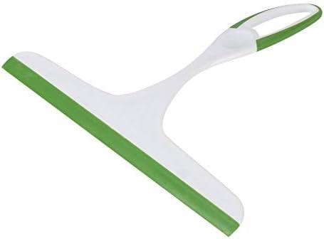 FinukGo Práctico limpiacristales de Vidrio, jabón, Limpiador, Cuchilla de Silicona, Ducha para el hogar, baño, Espejo, raspador, limpiaparabrisas de Coche, Verde-Verde: Amazon.es: Hogar