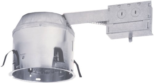 Remodel Shallow Recessed (Cooper Lighting H27RICAT 6-Inch Shallow Ceiling IC AirTite Remodel 120V Line Voltage Remodel)