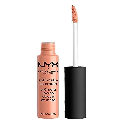 NYX Professional Makeup Soft Matte Lip Cream, High-Pigmented Cream Lipstick in Athens