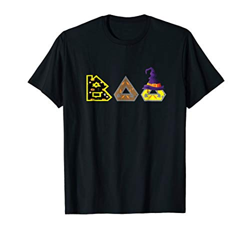 Boo Halloween T-Shirt With Good Witch Hat and