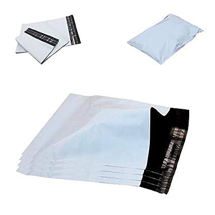 Bolsas de polietileno para envíos postales, color blanco ...
