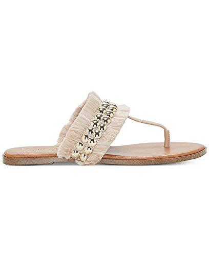 Jessica Simpson Womens Crespo Open Toe Casual, Natural, Size 10.0