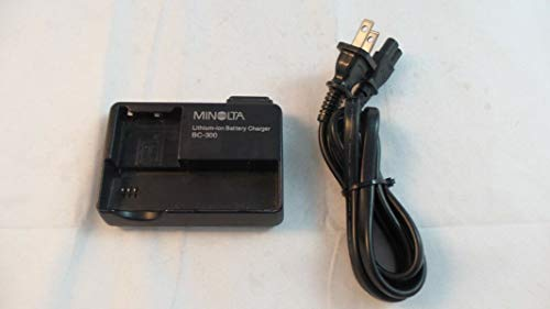 (Minolta BC300 Lithium-ion Battery Charger for the Dimage X, Xi & Xt Digital Cameras)