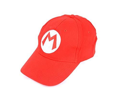 Nintendo Mario Bro: RedBaseball Cap Mario Hat Red, -