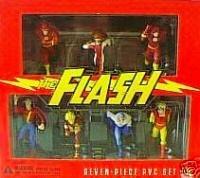7 Piece Pvc Figure (The Flash 7 Piece PVC Set)