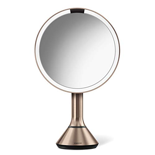 simplehuman Sensor Lighted Makeup Vanity Mirror, 8