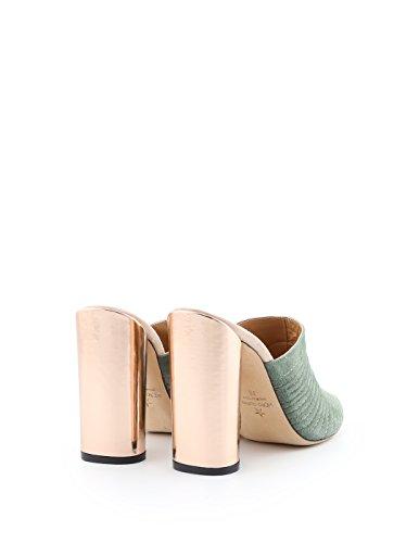Mujer Ellis Verde Cuero de para Vestir Marc de Zapatos Verde 1wdvqdS0