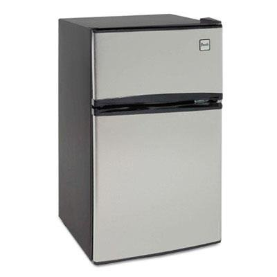Avanti RA3136SST 2 Door Cycle Refrigerator, 3.1 cu. ft, Stainless Steel