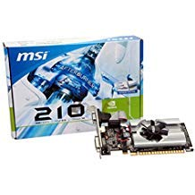 MSI N210-MD1G/D3 GeForce 210 Graphic Card - 589 MHz Core - 1 GB GDDR3 SDRAM - PCI Express 2.0 x16 - Half-height - 1000 MHz Memory Clock - 2560 x -