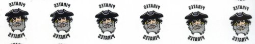 Pirates Temporary Tattoos (6 ea.)