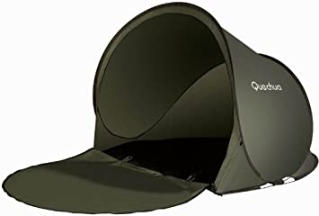 best value 836de 8f7e3 QUECHUA 2 SECONDS XL 0 POP UP SHELTER IN DARK GREEN: Amazon ...
