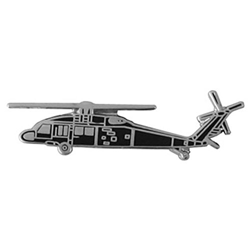 Black Hawk Helicopter Lapel Pin
