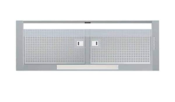 CATA CORONA X 90 850 m³/h Encastrada Acero inoxidable A - Campana (850 m³/h, Canalizado/Recirculación, A, A, B, 65 dB): Amazon.es: Grandes electrodomésticos