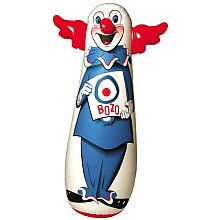 The Original 46' Bozo 3-D Bop Bag