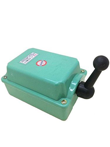 60A Drum Switch Forward/Off/Reverse Motor Control Rain Proof Reversing (Motor Switch Reversing)