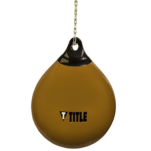 (Title Boxing TITLE Wave H2O Rotund Heavy Bag, Gold, 180 lbs)