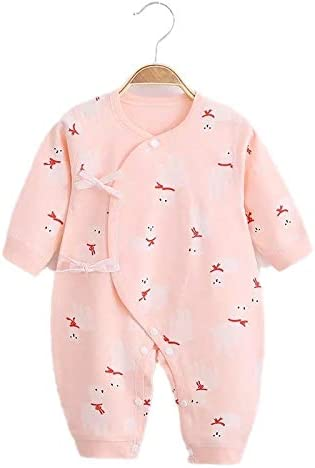 Berryqueen Light Pink 0-3 months infant body suit pure cotton handmade & designed in USA. By Moms and for new moms.
