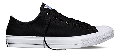 All Star Multi Eyelet - Converse Unisex Chuck Taylor II Ox Black/White/Navy Casual Shoe 5 Men US / 7 Women US