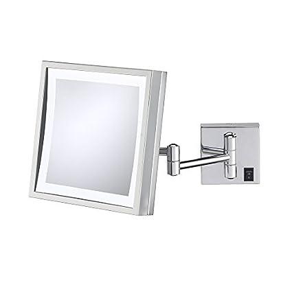 Kimball & Cara Única de Young 91273hw LED Espejo de pared cuadrado ...