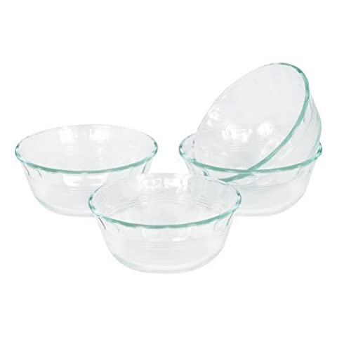 World Kitchen 6001143 Glass Deep Pie Dish 10 Oz (Pack