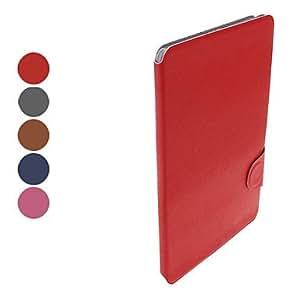 Wohai Gadget Mall - Tejido grano pu estuche de cuero con el soporte y la ranura para tarjeta para el ipad mini (colores surtidos) , Rosa