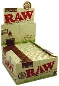 Papel de fumar orgánico de la marca Raw, pack de 5: Amazon.es: Hogar