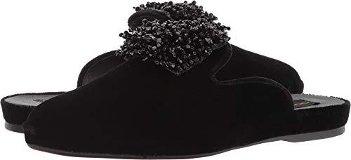 Donna Karan Women's Cara Mule Black Velvet 7.5 M US