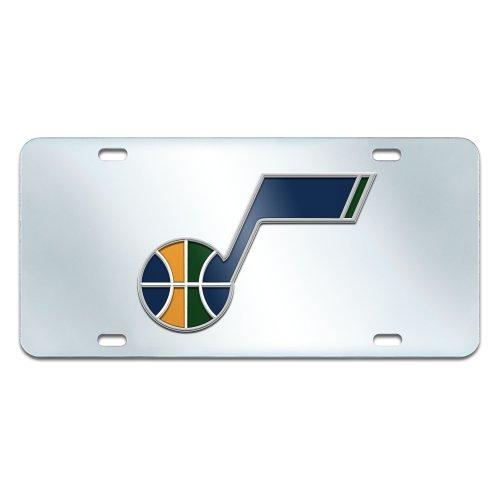 FANMATS NBA Utah Jazz Plastic License Plate (Inlaid) by Fanmats
