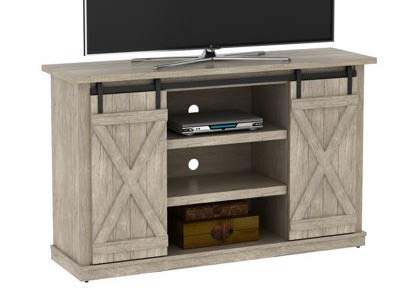 60 Inch Tv Stand - Ashland Pine Wood Sliding Barn Door with Shelves - Display Your TV in - Screen Sale Inch Tvs Flat On 32