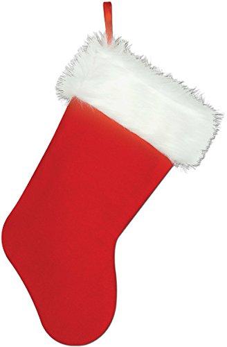 Plush Christmas Stocking {12 Pieces} , Plush Christmas Stocking. Size: 15''.All Sales Final, No Returns.