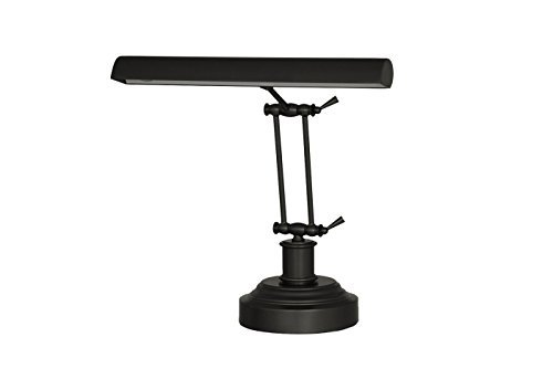 "Cocoweb 14"" 3-level Dimmable 2-point Adjustable LED Piano Desk Lamp - Oil Rubbed Bronze DLED14RB"