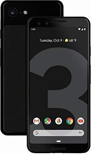 Google Pixel 3 64GB Unlocked GSM & CDMA 4G LTE - Just Black (Renewed)